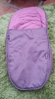 ICANDY peach 3 main seat   footmuff cosytoes marshmallow