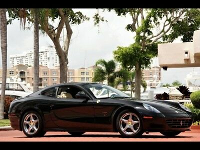 2005 Ferrari 612 Scaglietti BLACK ONLY 21K MILES MAJOR SERVICE JUST COMPLETED SHIELDS CLEAN CAR FAX WOW!