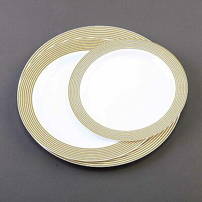 Clear Plastic Plates For Wedding   9 Clear Plastic Disposable Party Plates Wedding Reception New