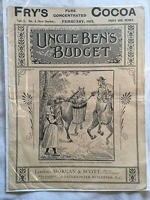 RARE UNCLE BEN'S BUDGET Vol.1 No.2 February 1901