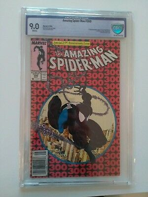 Amazing Spider-Man #300 CBCS (not CGC) 9.0 White Pages 1st App of Venom