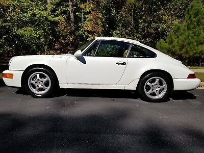 1993 Porsche 911 Carrera C4 Grand Prix White 5 speed Manual AWD