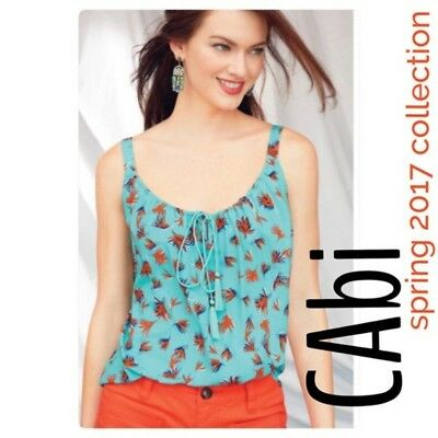Cabi #5230 Tassel Tank, Size Medium, New without Tags