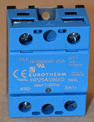 Eurotherm HP25A/280/D Halbleiterrelais Solid state relay single phase