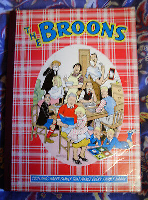 THE BROONS 1961 Annual - Dudley D Watkins - D C Thomson - Complete - VG
