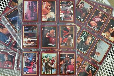 Star Trek: The Next Generation Complete Series 2 Card Set Paramount Pictures
