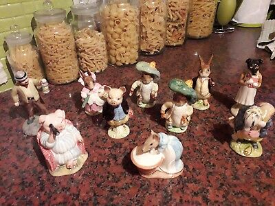 vintage beswick beatrix potter 10 figures