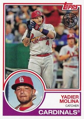 2018 Topps - 35th Anniversary - Yadier Molina #83-42 - St. Louis Cardinals