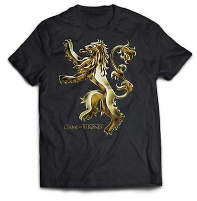 Game Of Thrones - Chrome Lannister Sigil - Official Mens T Shirt