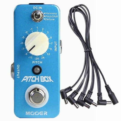 Mooer Pitch Box Micro Guitar Effects Pedal New
