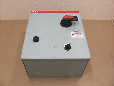 1 New Abb A9Sf1-8C6Ad A9Sf18C6Ad Fused Combo Starter