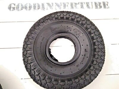 3.00-4 TYRE, 260x85 TYRE FOR TROLLYS, SACK TRUCKS WITH INNER TUBE