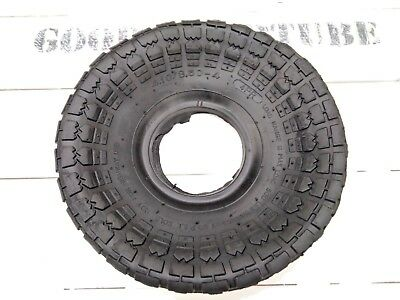 4.10/3.50-4 Tyre, 410/350-4 Tyre For Trollys, Sack Trucks With Inner Tube