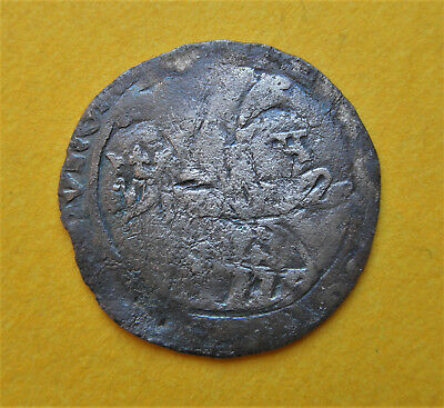 Hungarian Coinage - Louise I. The Great Groschen #e22
