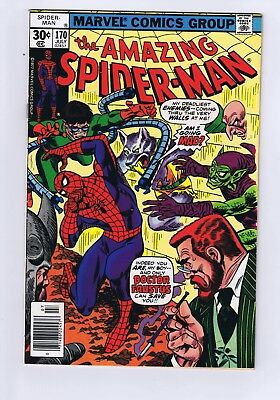 Amazing Spider-Man #170 Doctor Faustus Fine +
