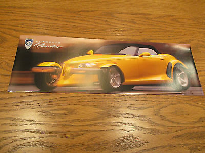 1998 Plymouth Prowler Original Brochure/Poster
