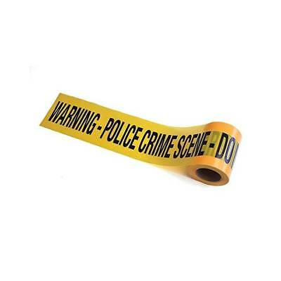 Crime Scene Police Warning Tape Murder Mystery Halloween Party