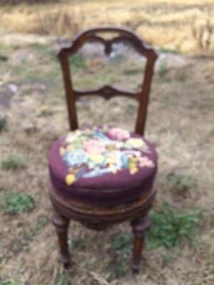 Revolving Piano Chair /Swivel Stool / Old Chair