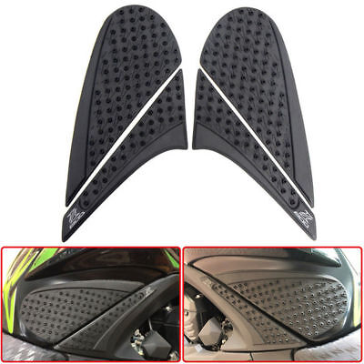 Motorcycle Tank Pads  for  KAWASAKI Z800 Knee Fuel Side Grips 2012-2015