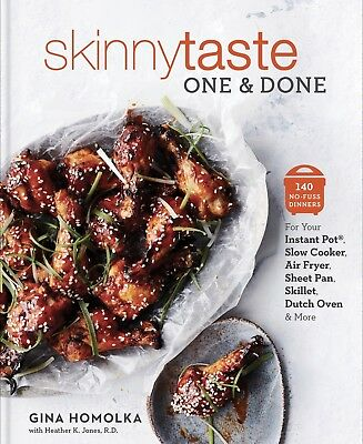 Skinnytaste One and Done 2018 ~ 140 No-Fuss Dinners by Gina Homolka {PDF)