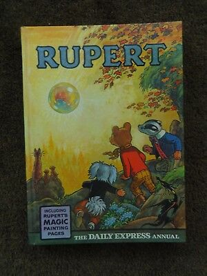 Rupert Annual 1968 - Magic Pages not painted - price clipped - VF Copy