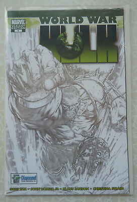World War Hulk #1 Diamond 25th Anniversary Variant Sketch Edition 1 of 10,000