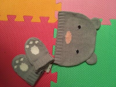 Cath Kidston Kids Hat And Mittens Baby