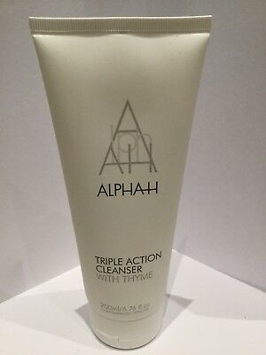 Alpha-H Triple Action Cleanser 200ml New
