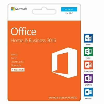 Microsoft Office 2016 Home and Business Windows 1 User