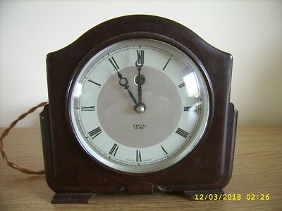 Smiths Bakelite Electric Clock