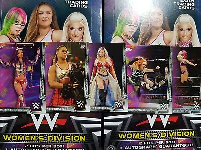 2018 Topps WWE Women's Division (1-50) COMPLETE YOUR SET - YOU PICK FROM LIST