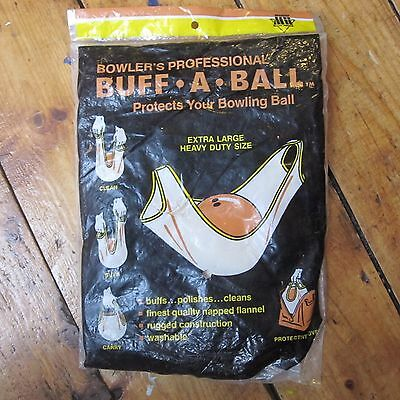 VINTAGE Masters 1975 Bowler's Buff-A-Ball Polishing Rag BRAND NEW & SEALED