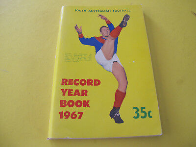 1967 South Australian Football Record Year Book 128 pages