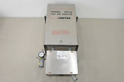 Ametek Thermox WDG IV Flue Gas Analyzer (16177 G21)