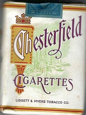 Wwii 1942 Chesterfield Pack