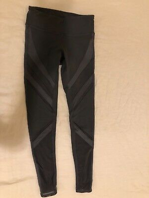 Alo Womens Active Yoga Epic Legging - Slate Color - Size XS