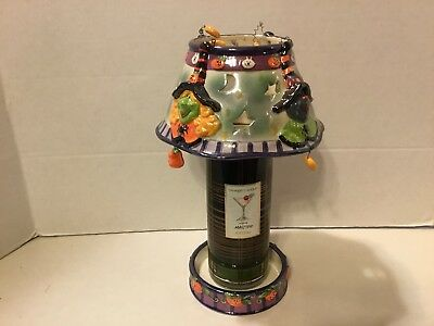 Halloween Candle Lamp. New. For use w/Yankee Candle by Hallmark.