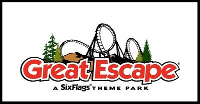 Six Flags Great Escape Tickets  A Promo Discount Tool Savings + Free Parking!