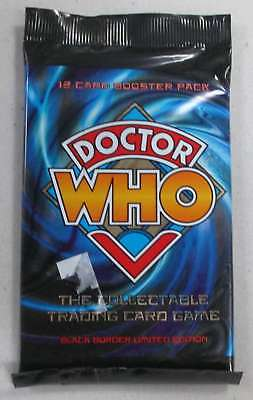 Doctor Who The Collectable Trading Card Game 12 Card Booster Pack, New