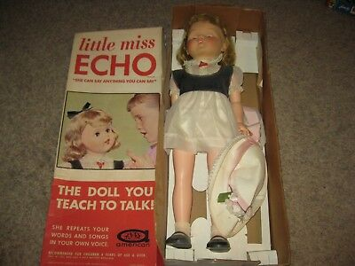 """Vintage 1960's American Character Little Miss Echo 29"""" With Box"""
