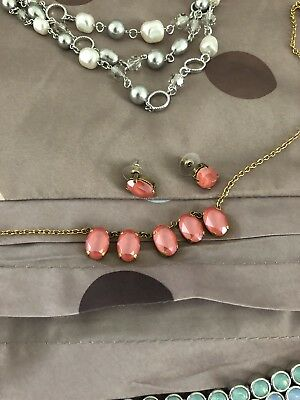 Touchstone Crystal By Swarovski South Beach Necklace And Earrings