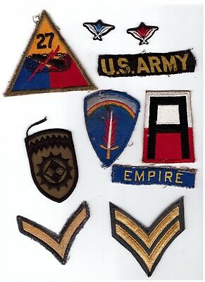 Lot of 10 MILITARY PATCHES