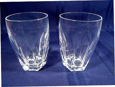 2 Waterford KATHLEEN  Tumblers 4 1/4 inches Liquor Glasses