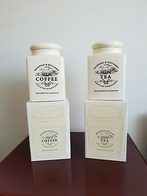 Maxwell Williams Homestead Collection Tea and Coffee Canisters
