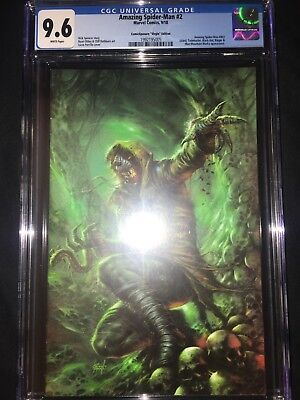 Amazing Spider-Man #2 CGC 9.6 - Lucio Parrillo Virgin ComicXposure Variant  2018
