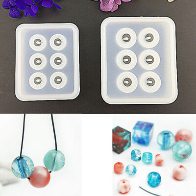 Resin Casting Mold Silicone Mould Bead Earring Pendant Jewelry Making Craft DIY