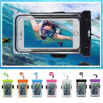 Waterproof Shockproof Floating Dry Bag Luminous Pouch Case for Cell Phone