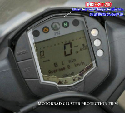 For KTM DUKE 390 /200 Cluster Scratch Protection Film & Cluster Screen Protector
