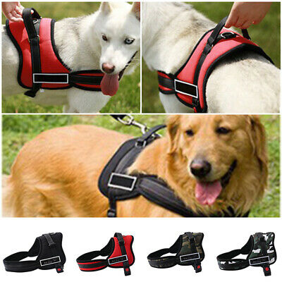 Outdoor No Pull Adjustable Pet Dog Vest Nylon Padded Handle Harness S/M/L/XL/XXL