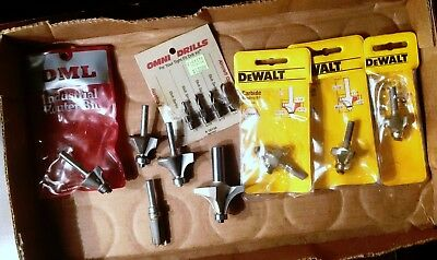 Lot of various Router bits